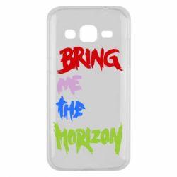 Чехол для Samsung J2 2015 Bring me the horizon