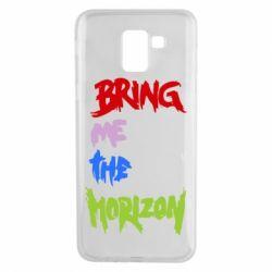 Чехол для Samsung J6 Bring me the horizon