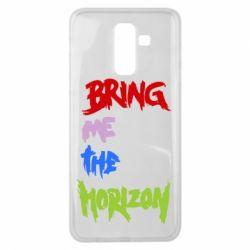 Чехол для Samsung J8 2018 Bring me the horizon