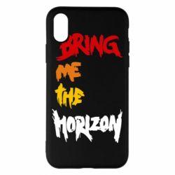 Чехол для iPhone X/Xs Bring me the horizon