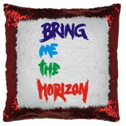 Подушка-хамелеон Bring me the horizon