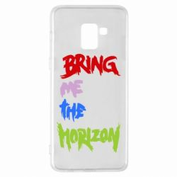 Чехол для Samsung A8+ 2018 Bring me the horizon