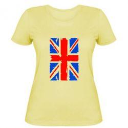Женская футболка Британский флаг - FatLine
