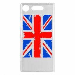 Чехол для Sony Xperia XZ1 Британский флаг - FatLine