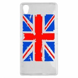 Чехол для Sony Xperia Z1 Британский флаг - FatLine
