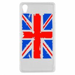 Чехол для Sony Xperia Z3 Британский флаг - FatLine