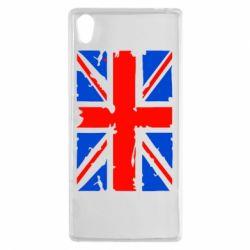 Чехол для Sony Xperia Z5 Британский флаг - FatLine