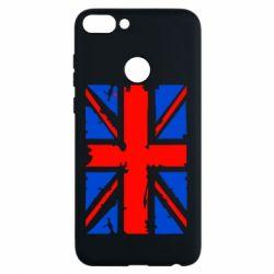 Чехол для Huawei P Smart Британский флаг - FatLine