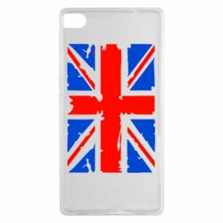 Чехол для Huawei P8 Британский флаг - FatLine