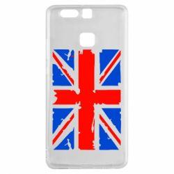Чехол для Huawei P9 Британский флаг - FatLine