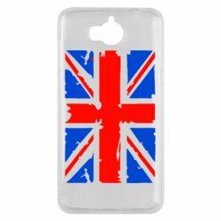 Чехол для Huawei Y5 2017 Британский флаг - FatLine