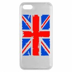 Чехол для Huawei Y5 2018 Британский флаг - FatLine