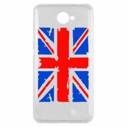Чехол для Huawei Y7 2017 Британский флаг - FatLine