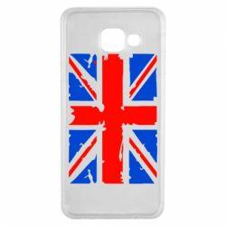 Чехол для Samsung A3 2016 Британский флаг