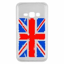 Чехол для Samsung J1 2016 Британский флаг