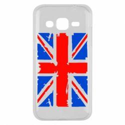 Чехол для Samsung J2 2015 Британский флаг