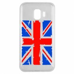 Чехол для Samsung J2 2018 Британский флаг