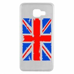 Чехол для Samsung A7 2016 Британский флаг
