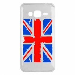 Чехол для Samsung J3 2016 Британский флаг