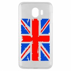 Чехол для Samsung J4 Британский флаг
