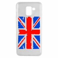 Чехол для Samsung J6 Британский флаг