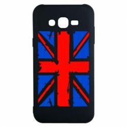 Чехол для Samsung J7 2015 Британский флаг