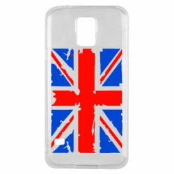 Чехол для Samsung S5 Британский флаг