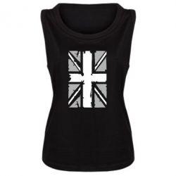 Женская майка Британский флаг - FatLine