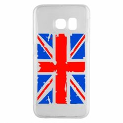 Чехол для Samsung S6 EDGE Британский флаг