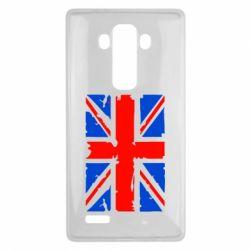 Чехол для LG G4 Британский флаг - FatLine