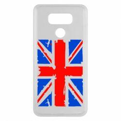 Чехол для LG G6 Британский флаг - FatLine