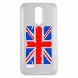 Чехол для LG K7 2017 Британский флаг - FatLine