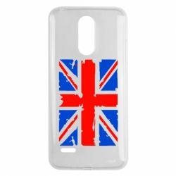 Чехол для LG K8 2017 Британский флаг - FatLine