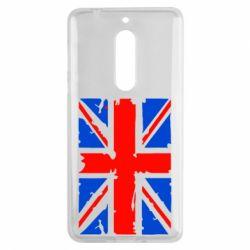 Чехол для Nokia 5 Британский флаг - FatLine