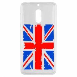 Чехол для Nokia 6 Британский флаг - FatLine