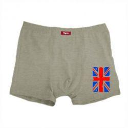 Мужские трусы Британский флаг - FatLine