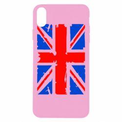 Чехол для iPhone Xs Max Британский флаг