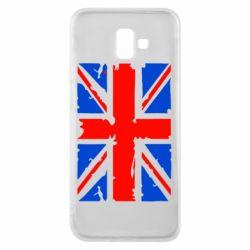 Чехол для Samsung J6 Plus 2018 Британский флаг