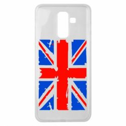 Чехол для Samsung J8 2018 Британский флаг
