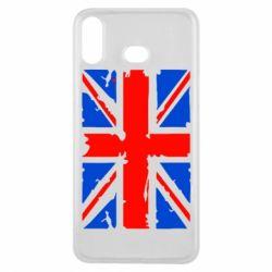Чехол для Samsung A6s Британский флаг
