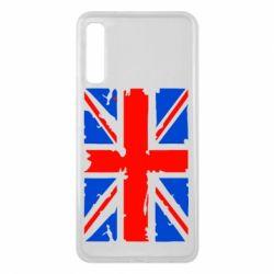 Чехол для Samsung A7 2018 Британский флаг