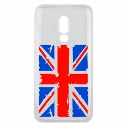 Чехол для Meizu 16 Британский флаг - FatLine