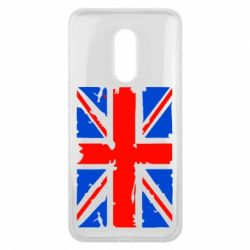 Чехол для Meizu 16 plus Британский флаг - FatLine