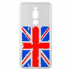 Чехол для Meizu Note 8 Британский флаг - FatLine