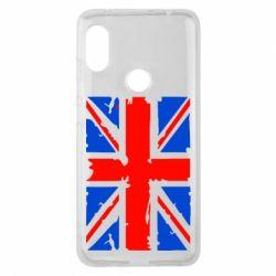 Чехол для Xiaomi Redmi Note 6 Pro Британский флаг - FatLine