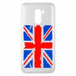 Чехол для Xiaomi Pocophone F1 Британский флаг - FatLine