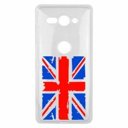 Чехол для Sony Xperia XZ2 Compact Британский флаг - FatLine