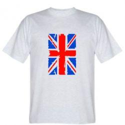 Мужская футболка Британский флаг - FatLine