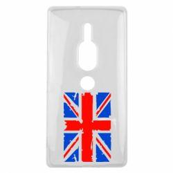 Чехол для Sony Xperia XZ2 Premium Британский флаг - FatLine