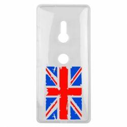 Чехол для Sony Xperia XZ3 Британский флаг - FatLine